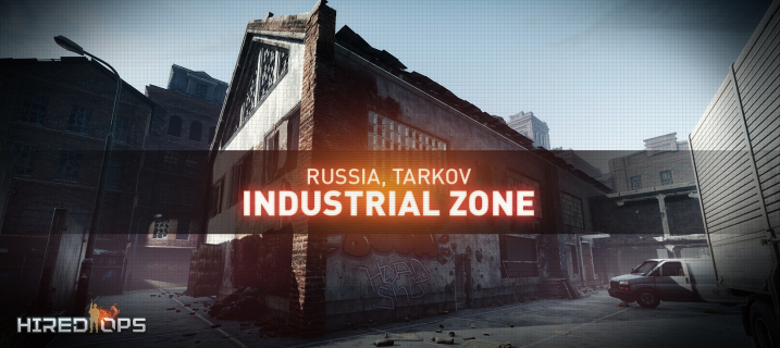 Screenshots of the new Industrial Zone location