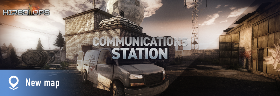 Coming soon - new Communications Station map