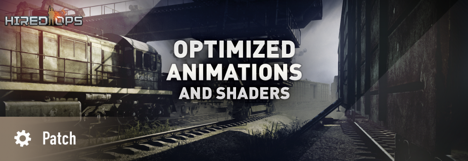 Optimized animations and shaders