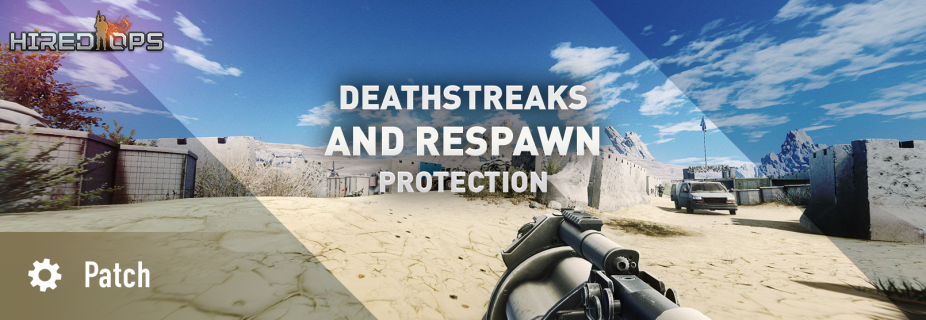 Deathstreaks and respawn protection