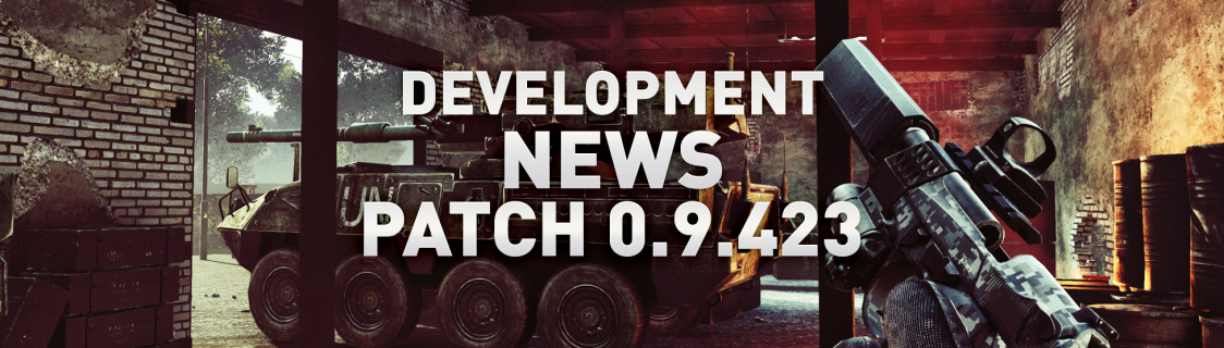 Development News: Patch 0.9.423