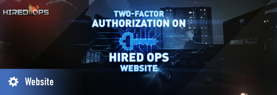 Multi-factor authentication on Hired Ops website