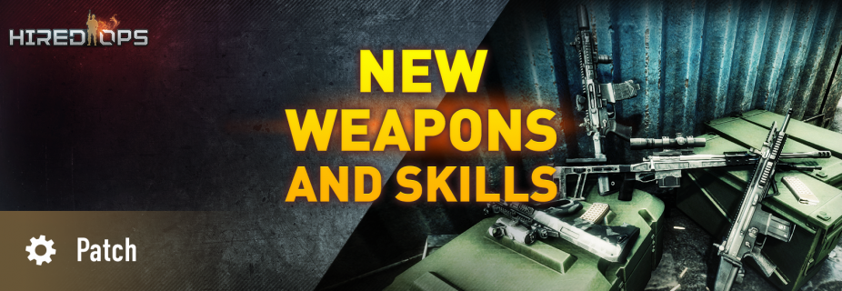 New weapons and skills